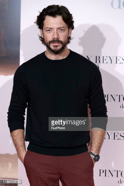 Alvaro Morte attends the ''Pintores Y Reyes Del Prado'' premiere at Verdi Cinema in Madrid Spain on Dec 4 2019