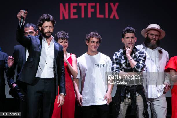Alvaro Morte attends the red carpet of 'La Casa de papel' 3rd Season by Netflix at Callao cinema on July 11 2019 in Madrid Spain