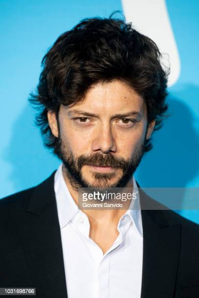 Alvaro Morte attends Upfront Movistar Blue Carpet at Reina Sofia Museum on September 11 2018 in Madrid Spain