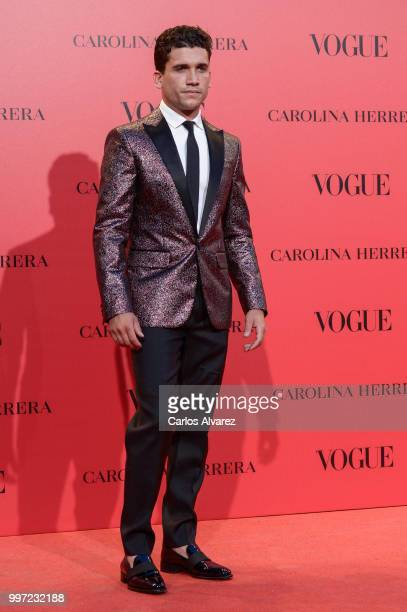 Alvaro Morte attends Vogue 30th Anniversary Party at Casa Velazquez on July 12 2018 in Madrid Spain