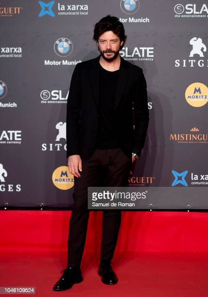 Alvaro Morte during `La sombra la Ley´ premiere at Sitges Film Festival on October 5 2018 in Sitges Spain