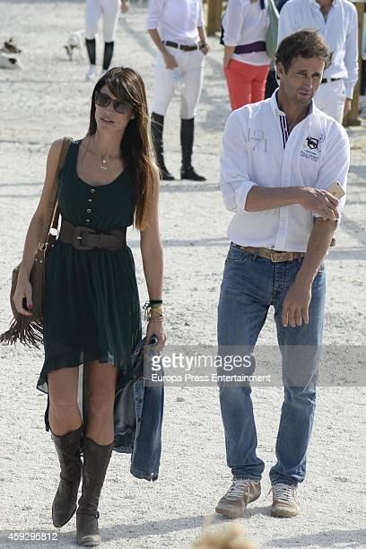 Alvaro Munoz Escassi and Sonia Ferrer are seen on November 7 2014 in Mijas Spain