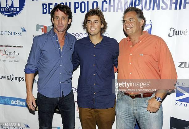 Alvaro Munoz Escassi attends II Polo Playa Party on September 19 2015 in Tarifa Spain