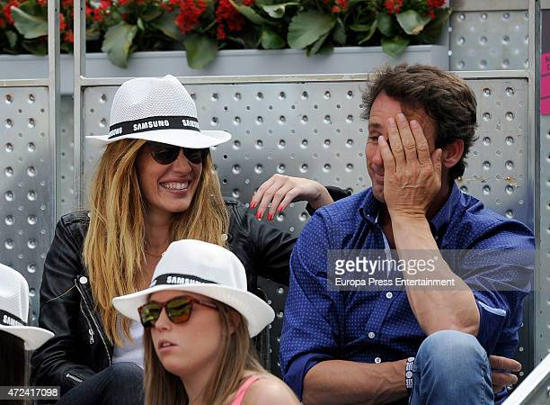 Alvaro Munoz Escassi attends the Mutua Madrid Open tennis tournament on May 6 2015 in Madrid Spain