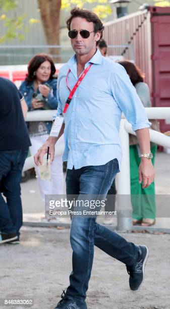 Alvaro Munoz Escassi is seen during the 2017 CSIO International Jumping on September 1 2017 in Gijon Spain