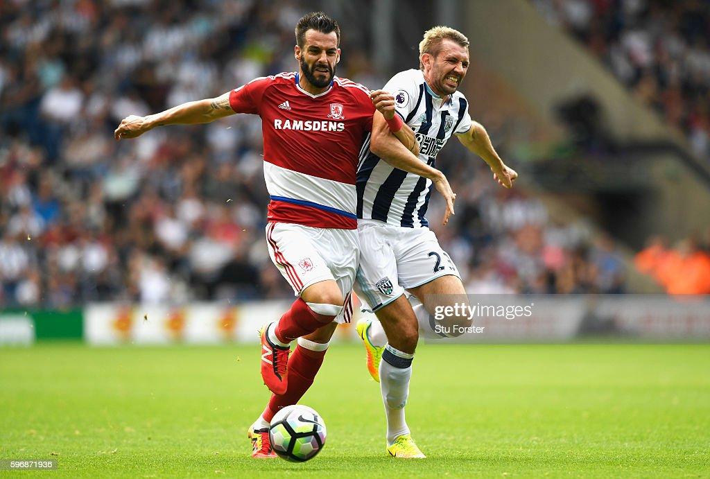 West Bromwich Albion v Middlesbrough - Premier League : News Photo