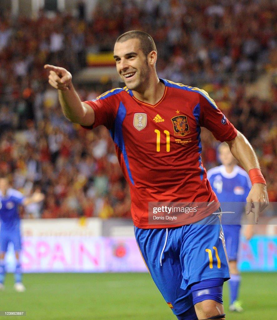 Spain v Liechtenstein - EURO 2012 Qualifier