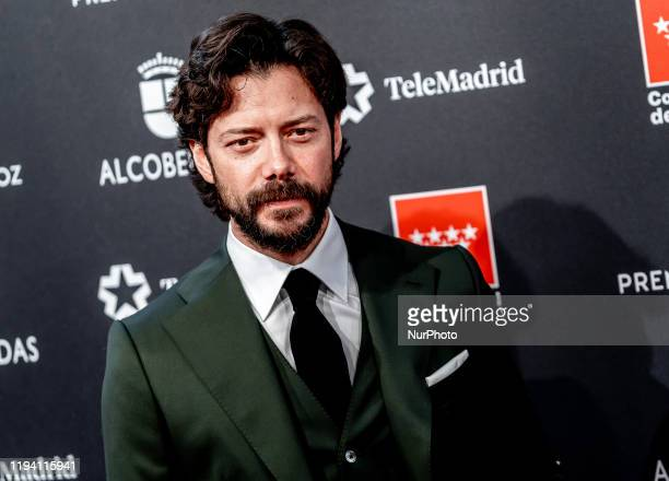 Alvaro Norte attends Feroz awards 2020 red carpet at Teatro Auditorio Ciudad de Alcobendas on January 16 2020 in Madrid Spain