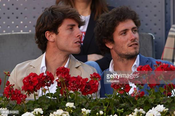 Alvaro Odriozola attends day nine of the Mutua Madrid Open at La Caja Magica on May 13 2018 in Madrid Spain