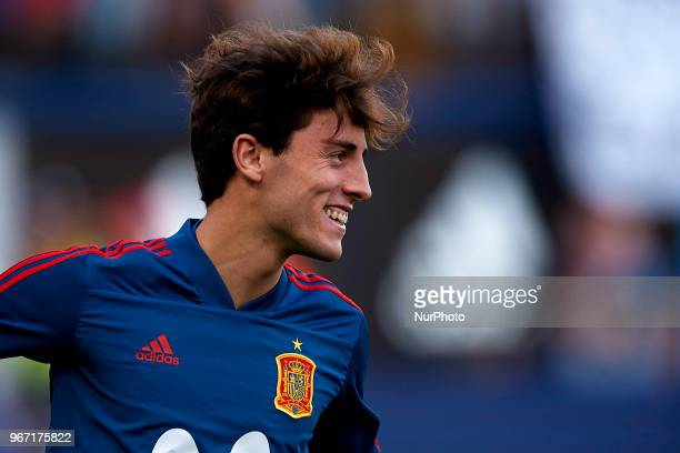 Alvaro Odriozola during a International friendly match between Spain against Switzerland in La Ceramica Stadium Villarreal Spain on 03 June of 2018