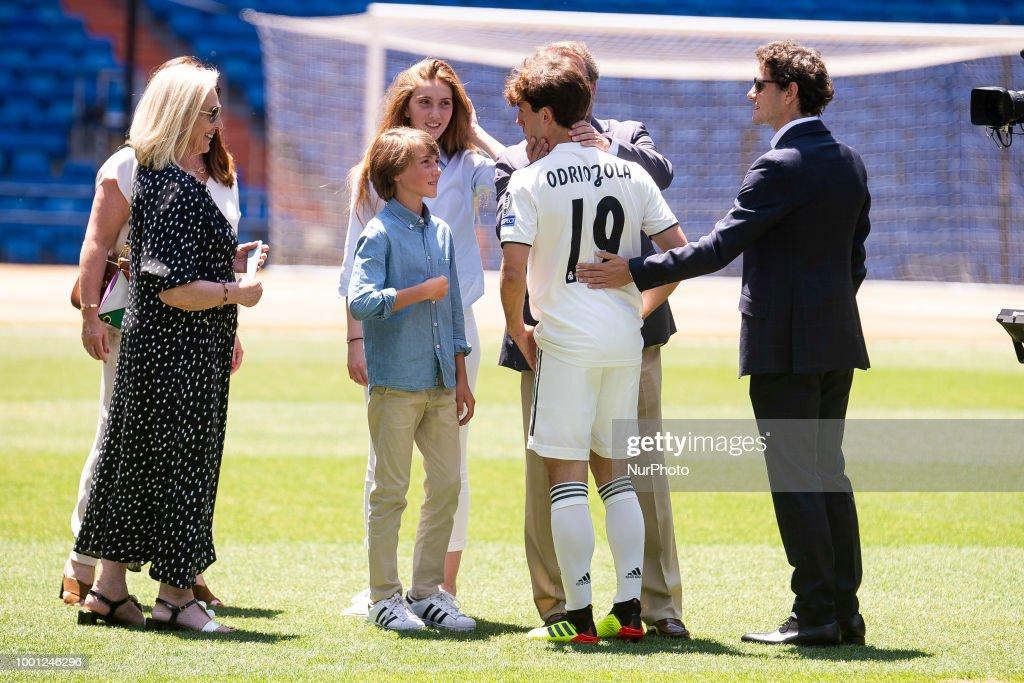 Real Madrid Present Alvaro Odriozola