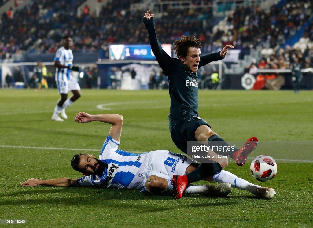 ESP: Leganes v Real Madrid- Copa del Rey Round of 16: Second Leg