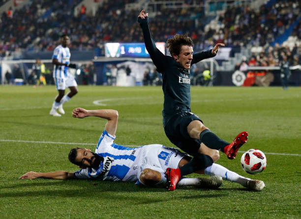 ESP: Leganes v Real Madrid- Copa del Rey Round of 16: Second Leg