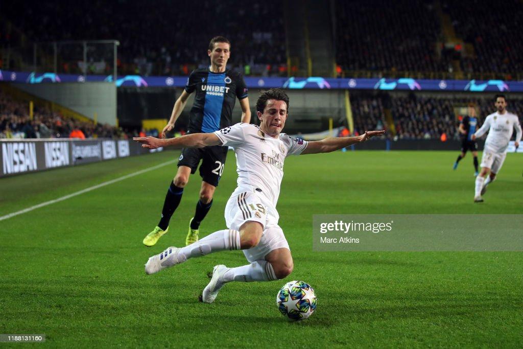 Club Brugge KV v Real Madrid: Group A - UEFA Champions League : News Photo