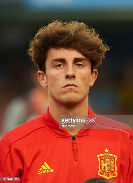 Alvaro Odriozola of Spain prior the International friendly football match between Spain and Suisse at La Ceramica Stadium Vilareal on June 3 2018