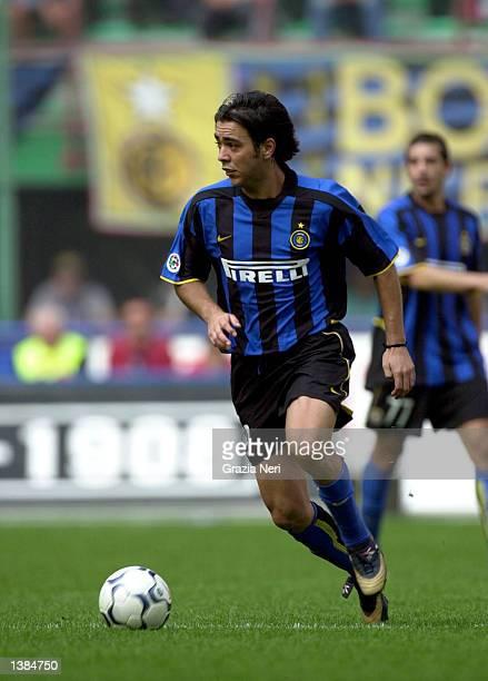 Alvaro Recoba of Inter Milan in action during the Serie A match between Inter Milan and Torino played at the San Siro Stadium, Milan, Italy on...