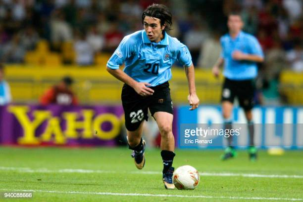 Alvaro Recoba of Uruguay during the World Cup match between France and Uruguay on 6th June 2002 at Asiad Main Stadium, Busan, South Korea