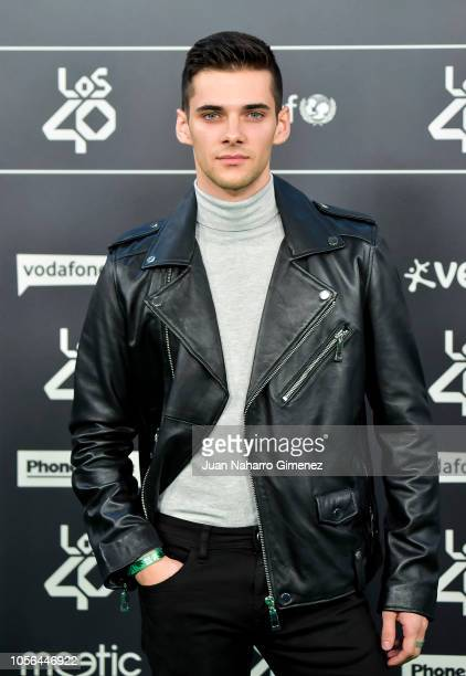 Alvaro Rico attends during 'LOS40 Music Awards' 2018 at WiZink Center on November 2 2018 in Madrid Spain