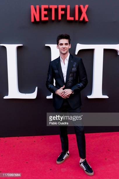 Alvaro Rico attends Elite 2nd Season Premiere at Callao Cinema on August 29 2019 in Madrid Spain