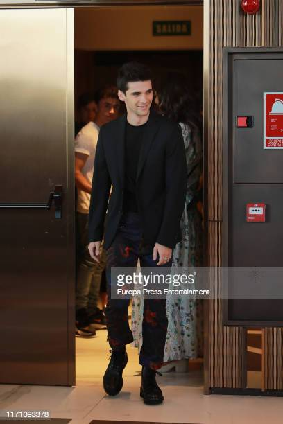 Alvaro Rico attends 'Elite' photocall on August 29 2019 in Madrid Spain