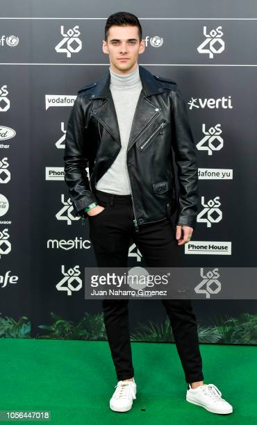 Alvaro Rico attends 'LOS40 Music Awards' 2018 at WiZink Center on November 2 2018 in Madrid Spain