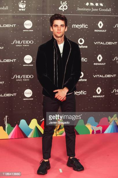 Alvaro Rico attends 'Los40 music awards 2019' photocall at Wizink Center on November 08 2019 in Madrid Spain