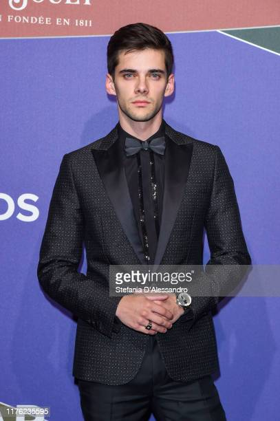 Alvaro Rico attends the amfAR Gala Milano 2019 at Palazzo Mezzanotte on September 21 2019 in Milan Italy