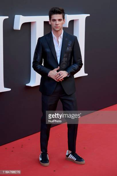 Alvaro Rico attends the Netflix 'Elite' season 2 premiere at Callao Cinema in Madrid Spain on Aug 29 2019