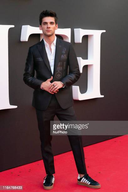 Alvaro Rico during the premiere of the second season of Elite in Madrid on 29 August 2019 Spain