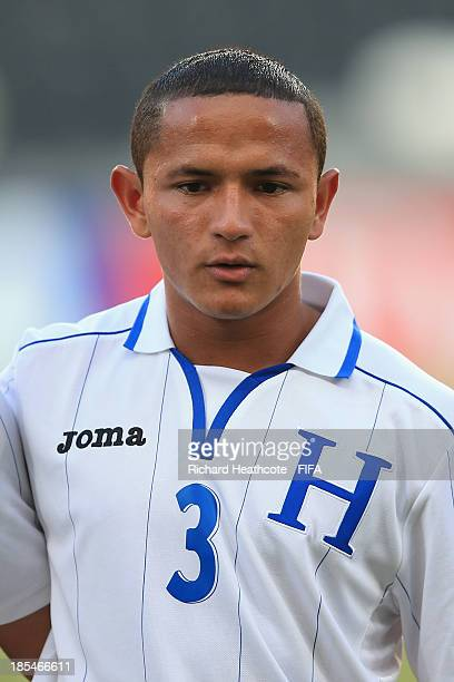 Alvaro Romero of Honduras during the FIFA U17 World Cup UAE 2013 Group A match between Slovakia and Honduras at the Mohamed Bin Zayed Stadium on...