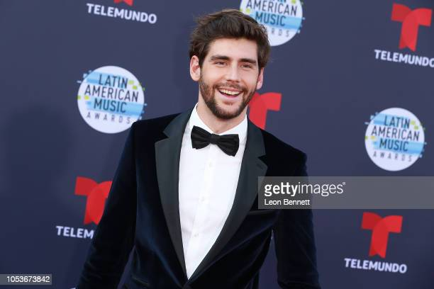 Alvaro Soler attends the 2018 Latin American Music Awards Arrivals at Dolby Theatre on October 25 2018 in Hollywood California