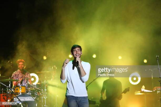 FLEGREA NAPOLI ITALIA ITALY Alvaro Soler in concert live at the Noisy Naples Fest Arena Flegrea in Naples