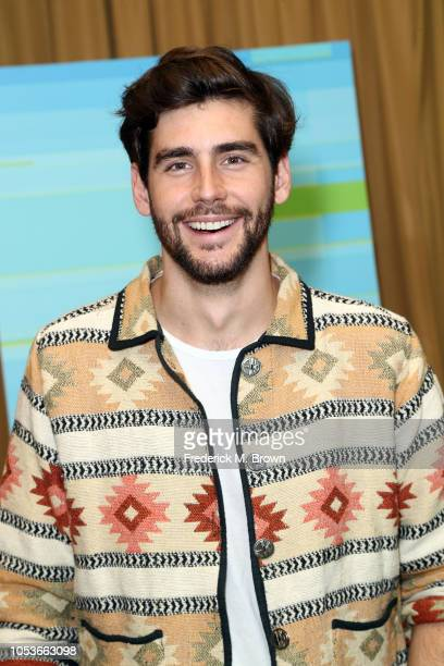 Alvaro Soler poses in the press room during the 2018 Latin American Music Awards at Dolby Theatre on October 25 2018 in Hollywood California