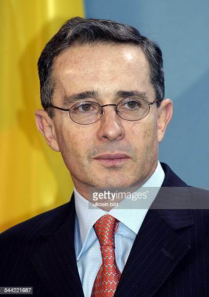 Alvaro URIBE Praesident von Kolumbien