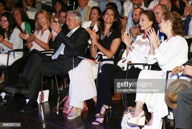 Alvaro Vargas LLosa and Isabel Preysler atttend XI Latin America Atlantic Forum organised by Fundacion para la Libertad on July 6 2018 in Madison...