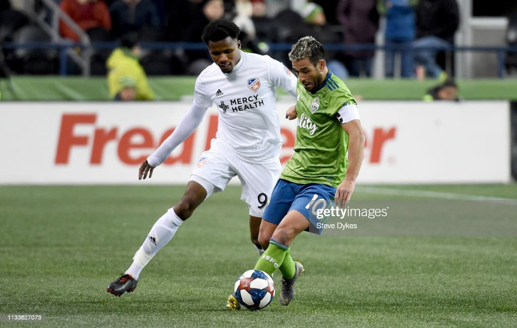 FC Cincinnati v Seattle Sounders FC : Nachrichtenfoto