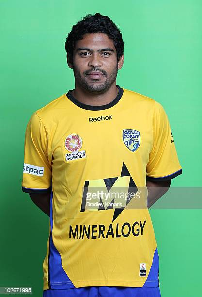 Alves da Silva Anderson poses during the official Gold Coast United 2010/11 Hyundai ALeague headshots session at The Southport School on July 7 2010...