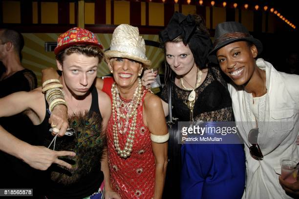 Alvie Hueston Sandra Long Penelope Gabrielle and Nefertiti Strong attend LOVE FOR LARISSA Kenny Kenny Joey Israel present AMANDA LEPORE'S BIG TOP @...
