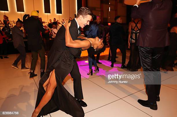 Alvin Ailey American Dance Theater company dancer Michael Francis McBride attends An Evening of Ailey And Jazz 2016 Opening Night Gala Benefit at New...