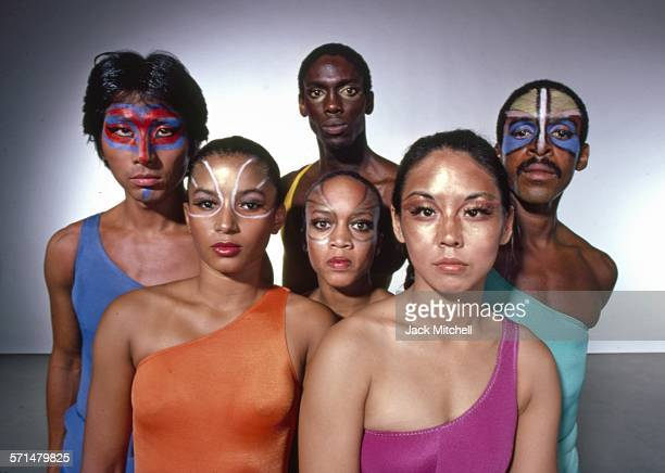Alvin Ailey American Dance Theater dancers performing repertory in 1979