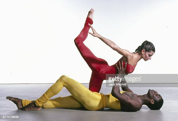 Alvin Ailey American Dance Theater dancers performing repertory in 1979