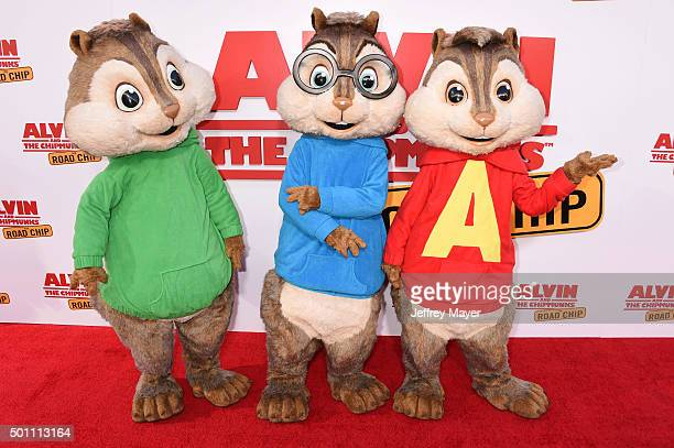 1 859 Alvin And The Chipmunks Photos And Premium High Res Pictures Getty Images