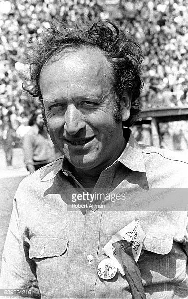 Alvin Duskin attends an AntiWar Rally at Golden Gate Park circa May 1972 in San Francisco California