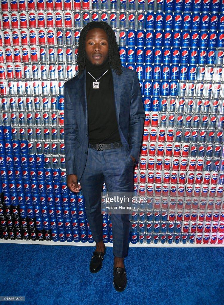 Alvin Kamara at Pepsi Generations Live Pop-Up on February 2, 2018 in Minneapolis, Minnesota.