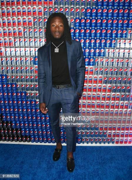 Alvin Kamara at Pepsi Generations Live PopUp on February 2 2018 in Minneapolis Minnesota