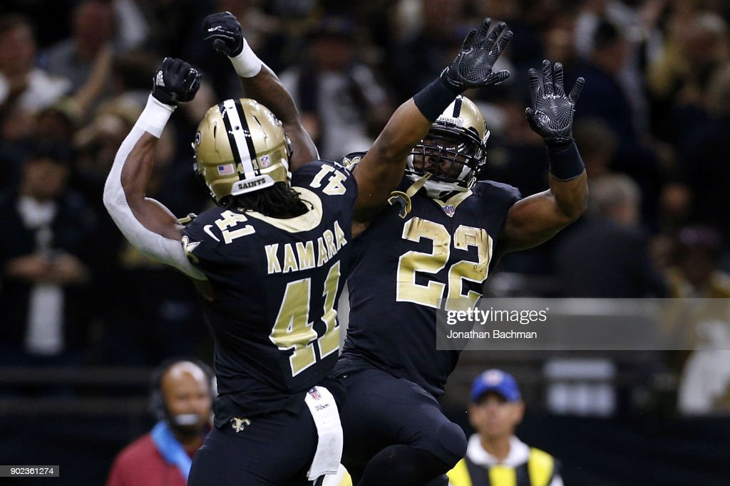 Wild Card Round - Carolina Panthers v New Orleans Saints : News Photo