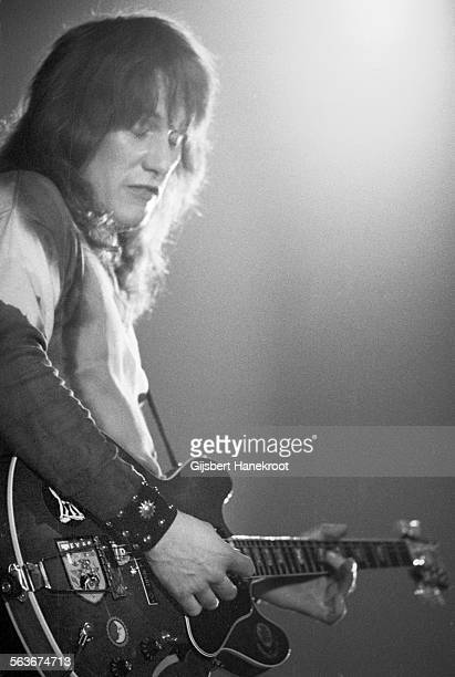 Alvin Lee from Ten Years After performs on stage in Amsterdam Netherlands 1972