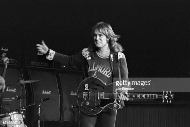 Alvin Lee of Ten Years After performing in Copenhagen Denmark 1972