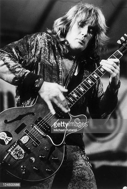 Alvin Lee of Ten Years After performs on stage Reading Festival UK 13th August 1972