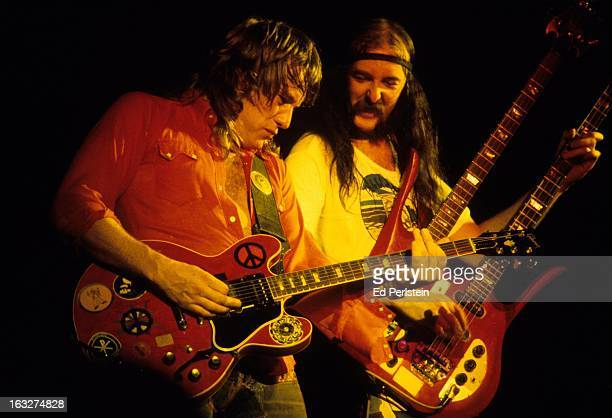 Alvin Lee performs with Ten Years After at Winterland in May 1978 in San Francisco California